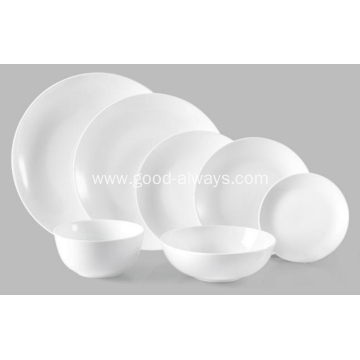 7-Inch ,17.8-Cm White Porcelain Rice Bowl Cereal Bowl