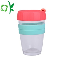 Custom Muliti-color Silicone Coffee Cup Sleeve with Logo