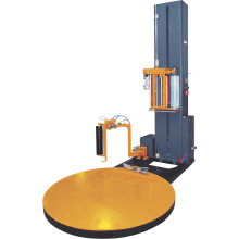 Automatic stretch film pallet wrapper