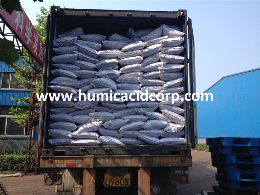 potassium humate in 25kg bag