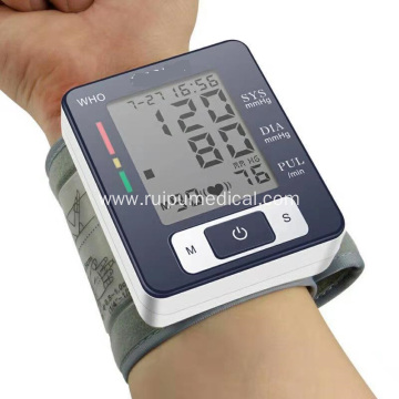 Digital Wrist Type Watch Blood Pressure Monitor