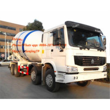 8x4 12 cubic meters concrete mixing truck