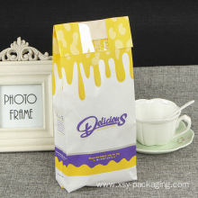 Printed Bread Kraft Paper Bag For Bakery