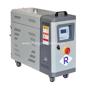 Dual-temp mold oil circulation controller
