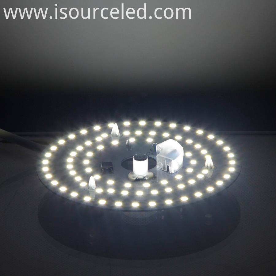 SMD 2835 5W Led Light Board Round led panel light