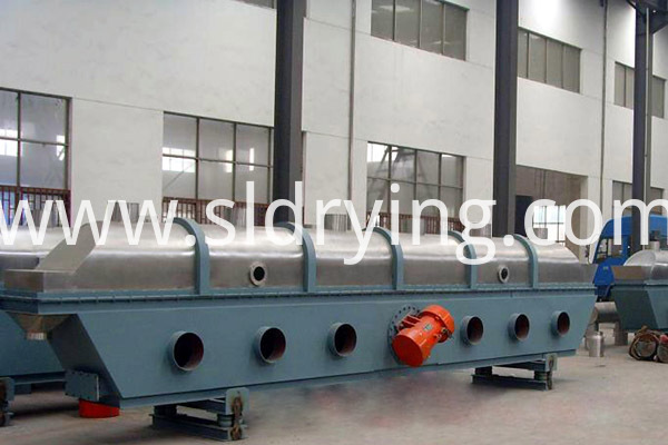 ZLG Series fish food Vibration Fluidized Bed Dryer
