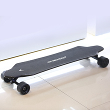 Carving high speed electric skateboard