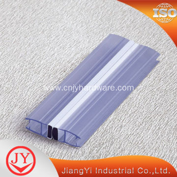 Rubber PVC material curved shower screen seal