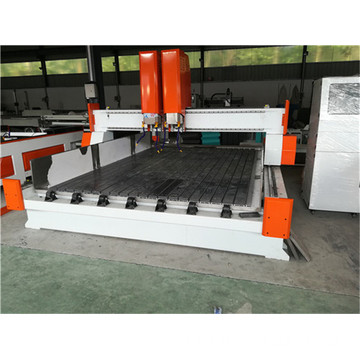 double head water spindle stone cnc router