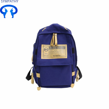 Cool canvas backpack with large capacity travel backpack