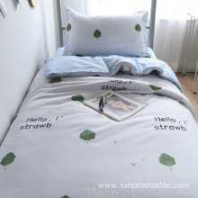 microfiber printed bedding cover