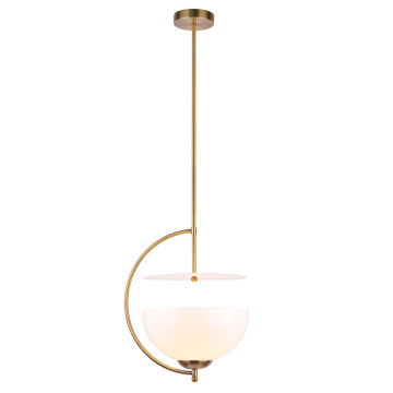 Creative glass hanging light modern pendant lamps