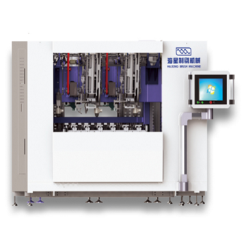 High Speed CNC Flat Brush Machine