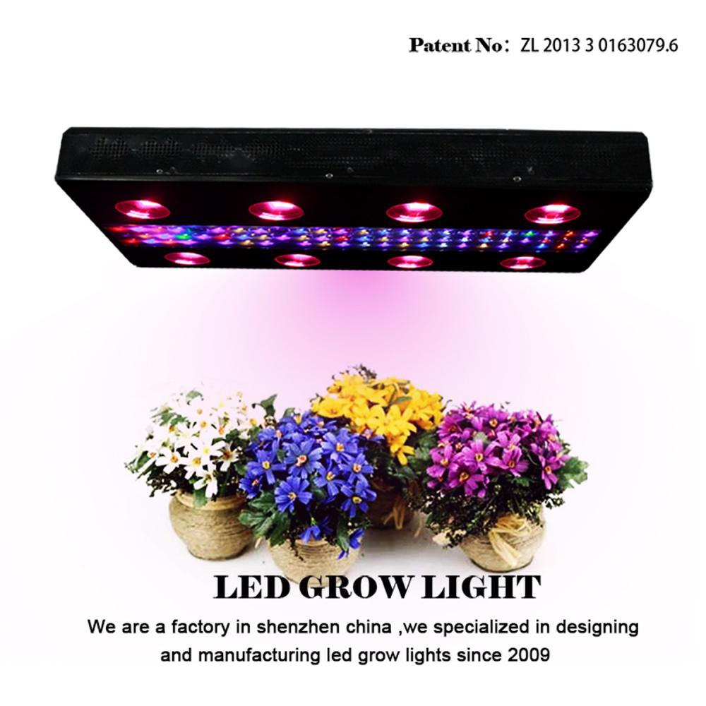 Three Dimmers 1200w Noah8 LED Grow Light