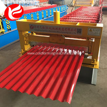 Automatic color steel corrugated roof sheet making machines