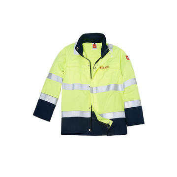 Flame Retardant Jacket dengan FR-Reflective-tape