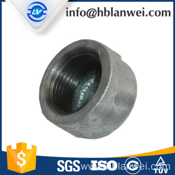 301 cap malleable iron pipe fittings