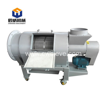 Centrifugal separator for fine powder screen sieve