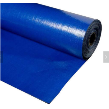 Blue color roll PE tarpaulin