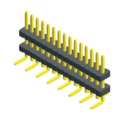 1.27mm Pin Header Double Plastic SMT Type