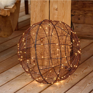 Customized Supplier for Led 3D Snowflake Motif Light 3D led metal Ball shape Motif festival light supply to Mali Manufacturer