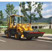 Powerful diesel engine wheel loader