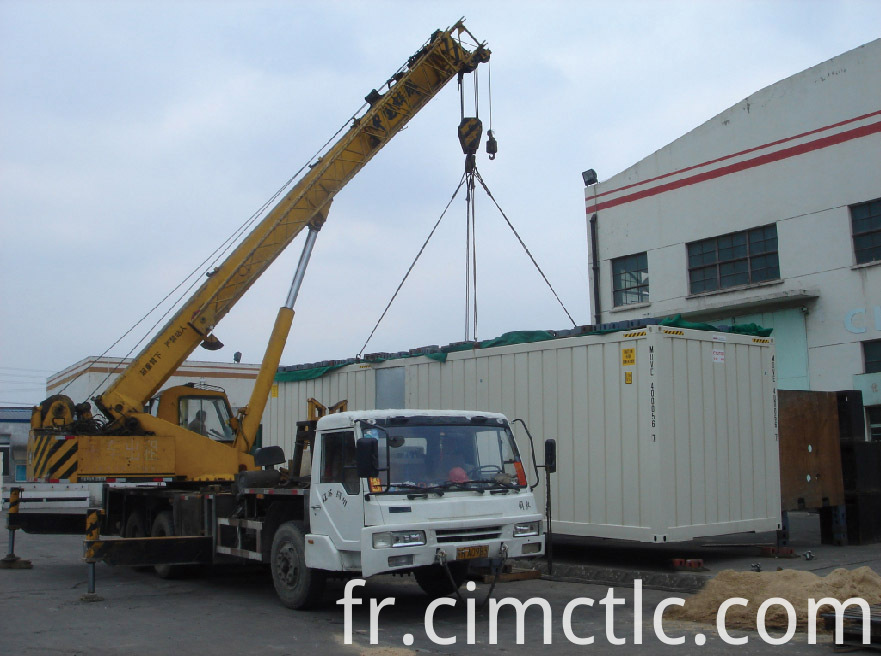 lifting test for Gas Container Integrated Type