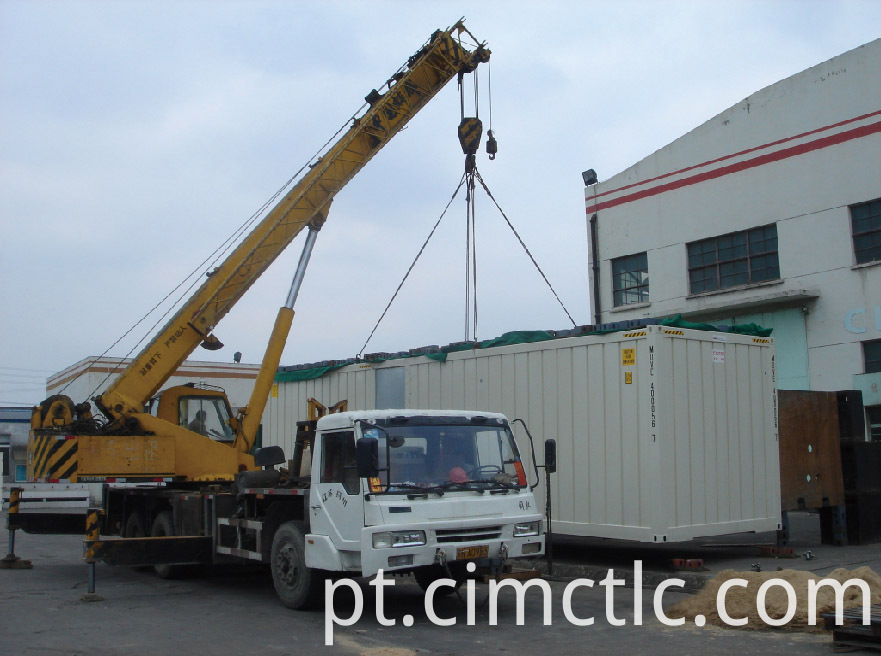 lifting test for UL Certified Tank Container