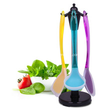 Best Price for Silicone Kitchen Tool 7pcs of kitchen utensils and one holder supply to Armenia Factory