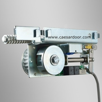 Commercial automatic door locking system