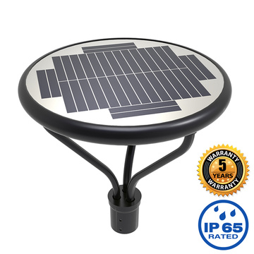 Solar Led Post Top Area Lights 20W