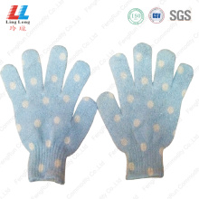 Foam Bathing body scrub wash bath gloves