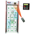 Metal detector per telaio porta scanner multi-zone Full Body