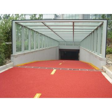 Colored non slip road Courts Sports Surface Flooring Athletic Running Track