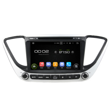 Android 7.1 Car DVD Player Per Hyundai Verna