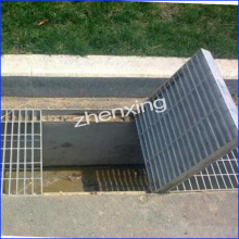 Zinc Coated Galvanized Steel Grid Drain Cover