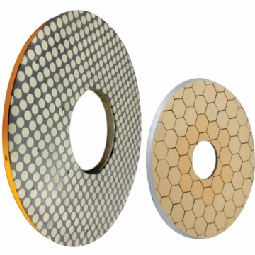 Diamond and CBN millstone for bearing surface