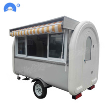 Snack Machinery Food Trailer Truck in vendita