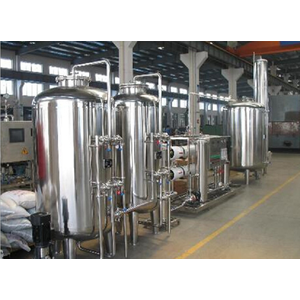 Pure Water Treatment Filter Plant