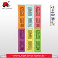 colorful 6 mesh door locker