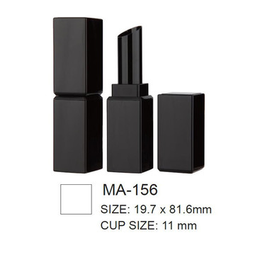 Square Empty Slim Lipstick Container