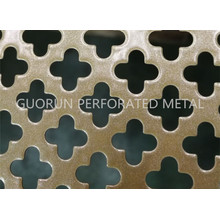 Cross Hole and Spraying Perforated Metal