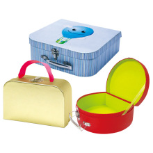 Gift Suitcase Paper Box with Handle for Toy