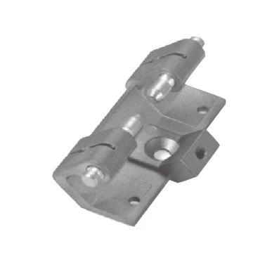 Cabinet Gray Powder-coating ZDC Housing Concealed Hinges