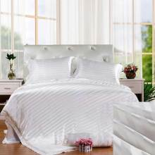 Cotton 250TC 1-3cm stripe bed linen