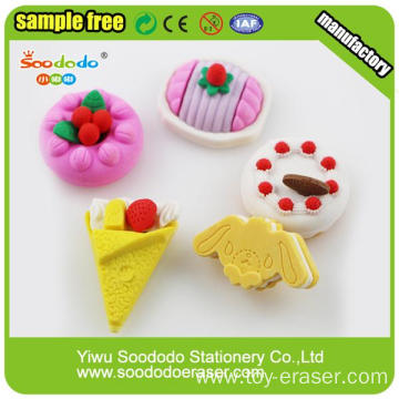 Best Quality Different Shape Various Color Cake Eraser