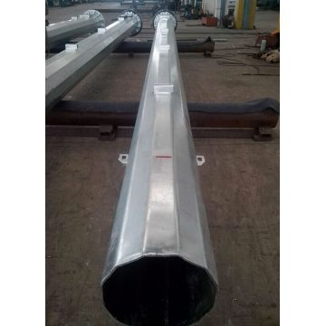20m Galvanized Lighting Pole