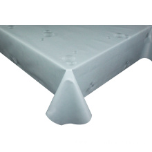 Solid Embossed Fabric Tablecloth Spandex Table Covers