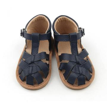 Soft Sole Leather Baby Kids Boy Girl Sandals