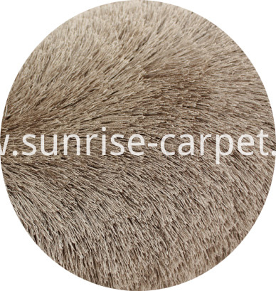 Viscoose Polyester Shaggy Brown